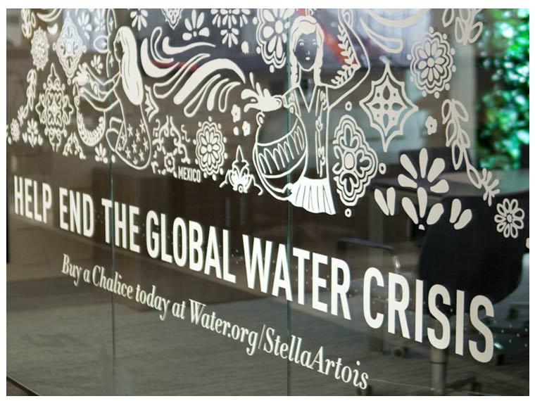 World Water Day Invertising